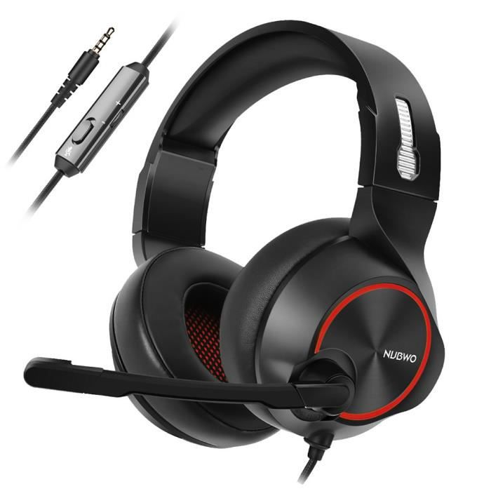 Nubwo N11 Gaming Musique Filaire Casque Léger Cbb81029383rd