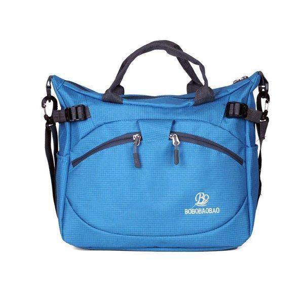SBBKO4758Femmes hommes en plein air sacs à main en nylon sacs à bandoulière imperméable occasionnels Crossbody Ciel Bleu