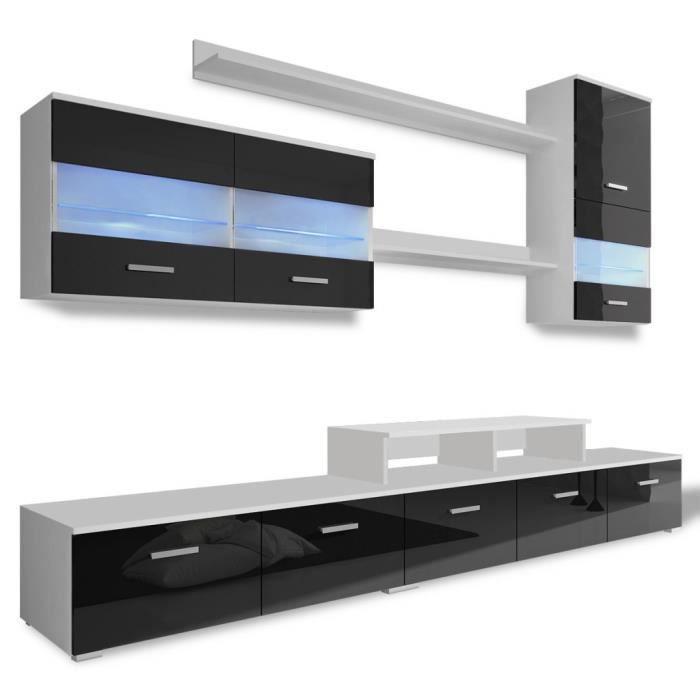 Meubles Audio Video Et Pour Home Cinema Meuble Tv Avec Led 250 Cm