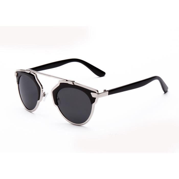 Premium vintage Mode rétro Lunettes de soleil Lunettes Eyewear Unisexe–Imprimé léopard EAelzv4w