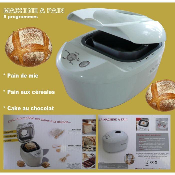 Machine à pain MAP001 - Achat / Vente machine à pain - Cdiscount