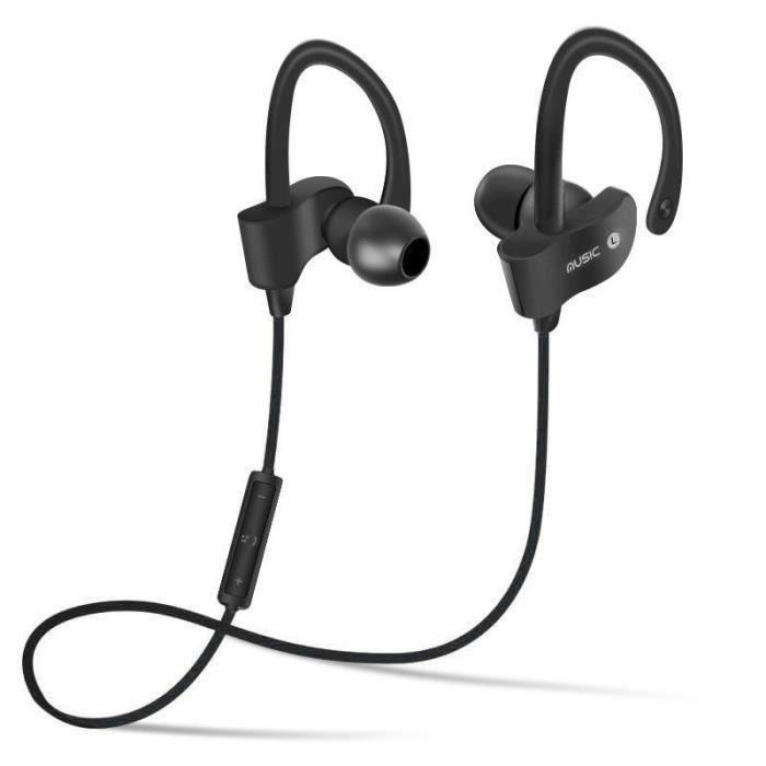 Ecouteurs Intra-auriculaires V4.1 Sports Course À Pied Exercice De Gymnastique Casque D'écoute Pour Iphones Samsung Lg Ipod Ipad
