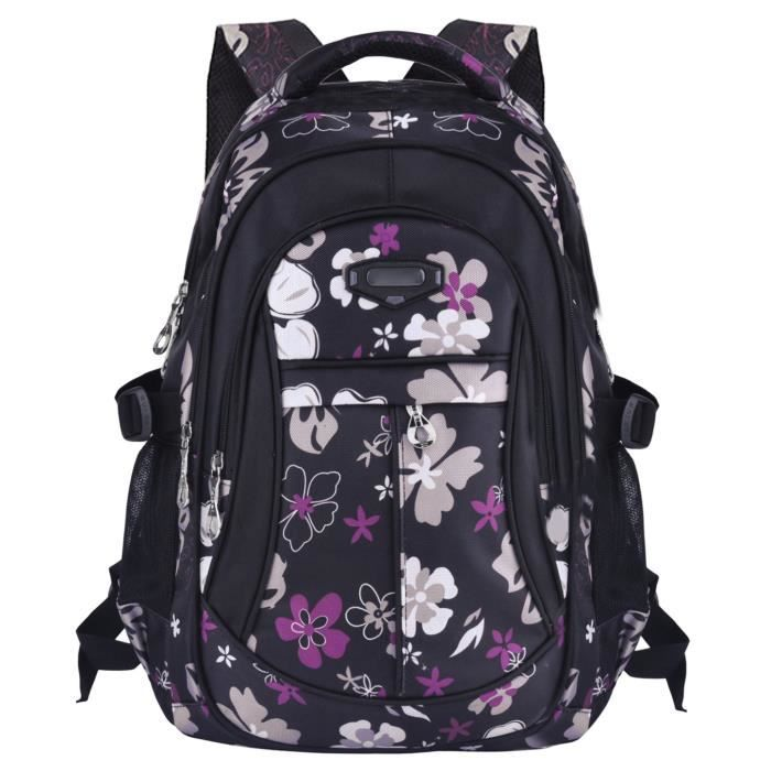 7a5f842ab8877c Coofit-Cartable fille Sac a dos fille Sac dos ecole fille Cartable fille  primaire Sac dos college fille Cartable enfant primaire