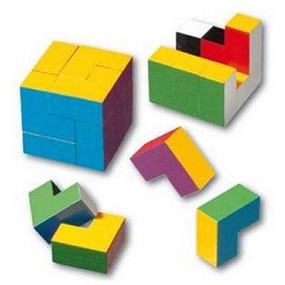 Casse-tête - Le cube coloré - Achat / Vente casse-tête - Cdiscount