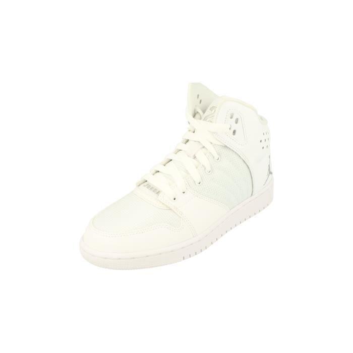 Nike Air Jordan 1 Flight 4 BG Hi Top Basketball Trainers 820136 Sneakers Chaussures 100