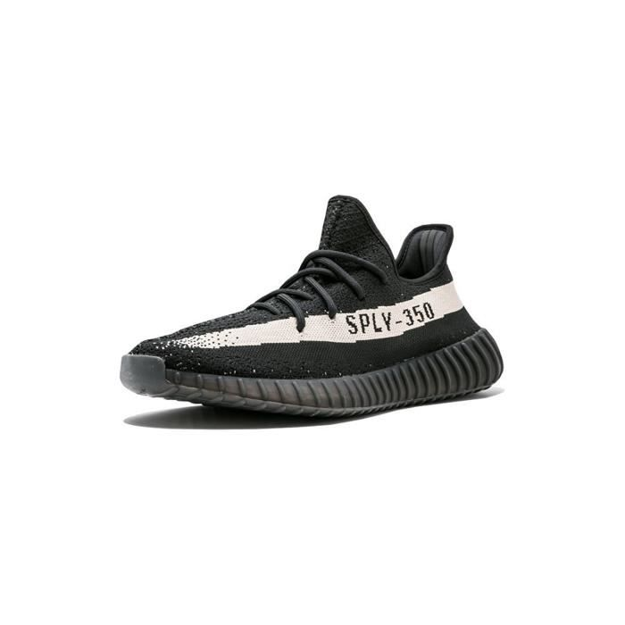 Baskets Yeezy Boost 350 V2 Core BlackWhite Real Boost