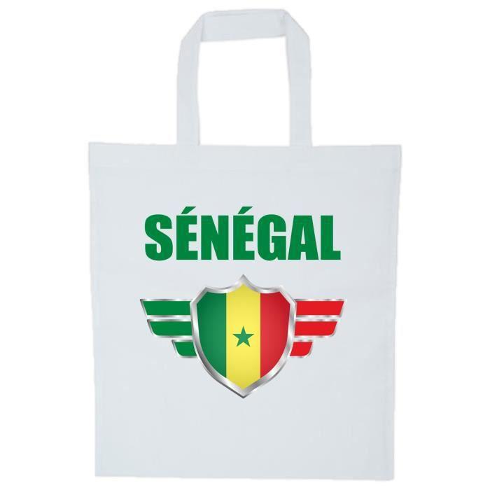 Coupe Monde 2018 Sac Sénégal Blanc Yonacrea Du Football De Bandoulière zBWUnI