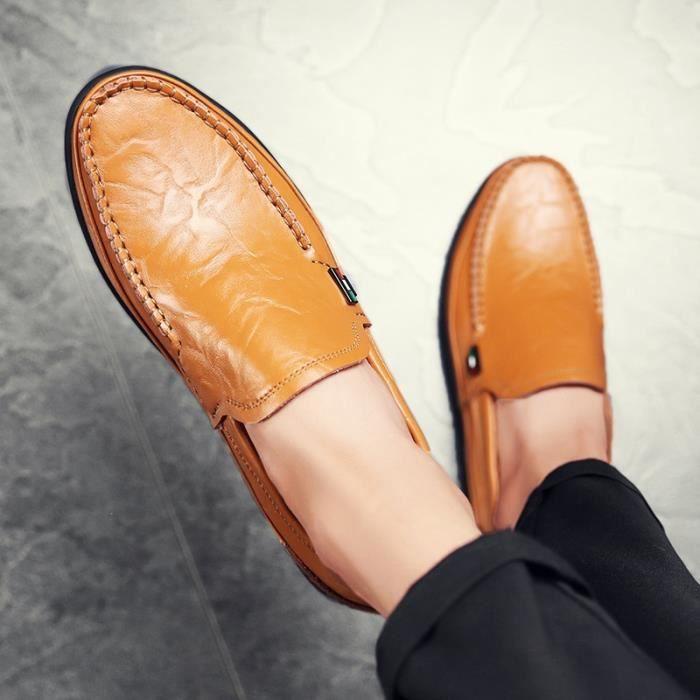 Nouvelle arrivée Mocassins Hommes d'affaires Oxford Chaussures Chaussures de conduite en cuir Chaussures de mode