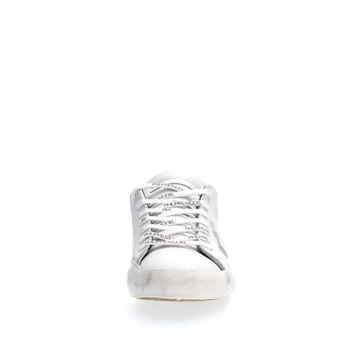 PHILIPPE MODEL PARIS SNEAKERS Homme WHITE, 41