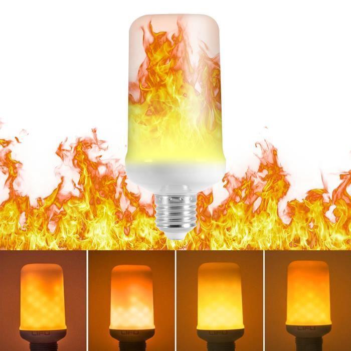 Fête Mode Avec Halloween Flamme Bar Effet Décoration Scintillement À Led 3 De Ld1467 Maison Base L'envers Pour E27 7w 1pc Lampe wHSqzP