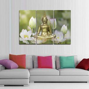 tableau zen decoration salon achat vente tableau zen decoration salon pas cher cdiscount. Black Bedroom Furniture Sets. Home Design Ideas