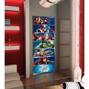 PAPIER PEINT Sticker Géant Disney Avengers