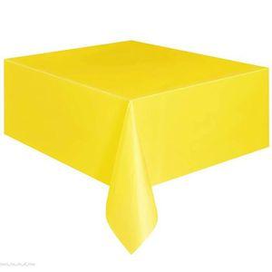 Nappe de table plastique achat vente pas cher - Nappe plastique transparente pour table ...