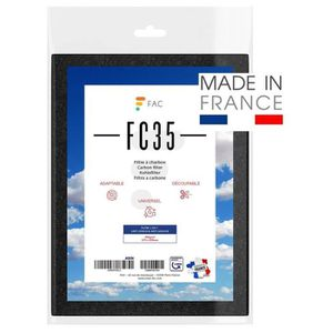 FILTRE POUR HOTTE Fac Filter - Filtre à charbon actif universel 47x5