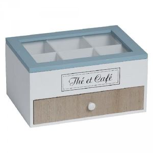 DISTRIBUTEUR CAPSULES BOITE A THE /CAFE