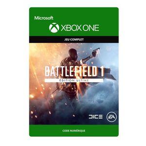 JEU XBOX ONE À TÉLÉCHARGER Battlefield 1 Édition Ultime Jeu Xbox One à téléch