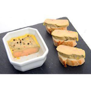 FOIE GRAS FRAIS Foie gras mi-cuit du Gers 250 grs