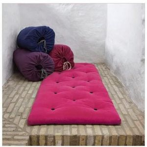 FUTON Matelas futon d'appoint rose BED IN A BAG couchage