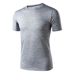 T-SHIRT Hommes Casual manches courtes col rond T-shirt, gr