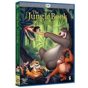 DVD DESSIN ANIMÉ LE LIVRE DE LA JUNGLE DVD