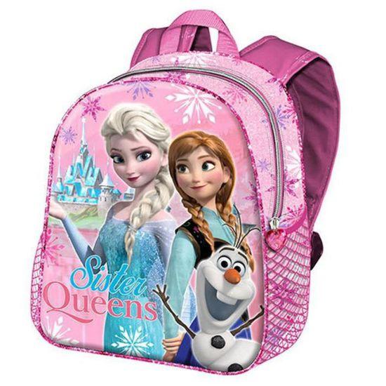 92033cee2eeba4 FROZEN Petit sac à dos enfants Elsa la reine des neiges Anna Olaf joli sac  rose filles école maternelle gouter crèche loisirs disney