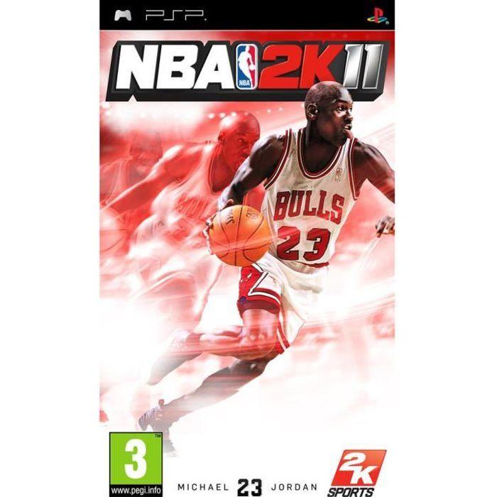 JEU PSP NBA 2K11 / jeu console PSP