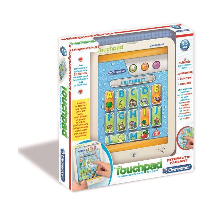 CLEMENTONI Touch Pad Premières découvertes