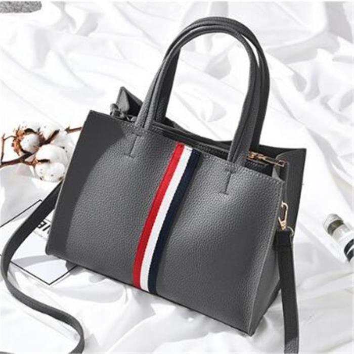 sac de luxe femme Les Plus Vendu De Marque De Luxe En Cuir Personnalité  Haut qualité Nouvelle arrivee jyb078 gris 924be2f684a
