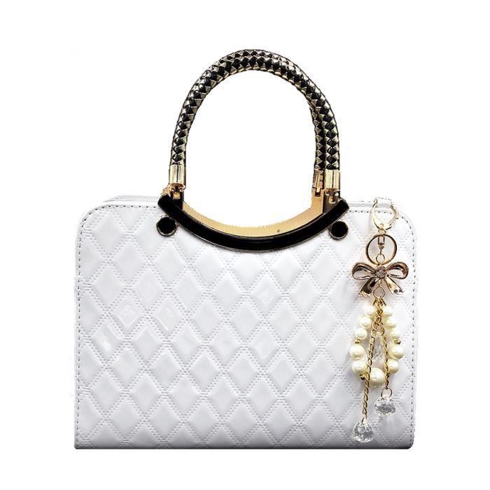 sac de voyage Nouveaux Sacs Top-manche pour les femmes 2017 Vente chaude Mesdames PUT cuir Sac Femme Designer Handbags Noir B-1780