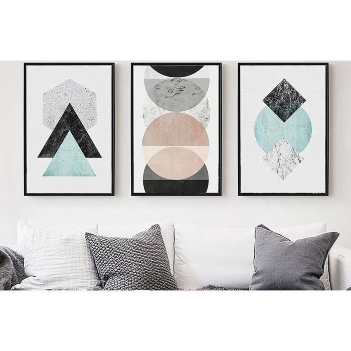 Le nouveau style nordique accueil art peinture moderne for Peinture moderne geometrique