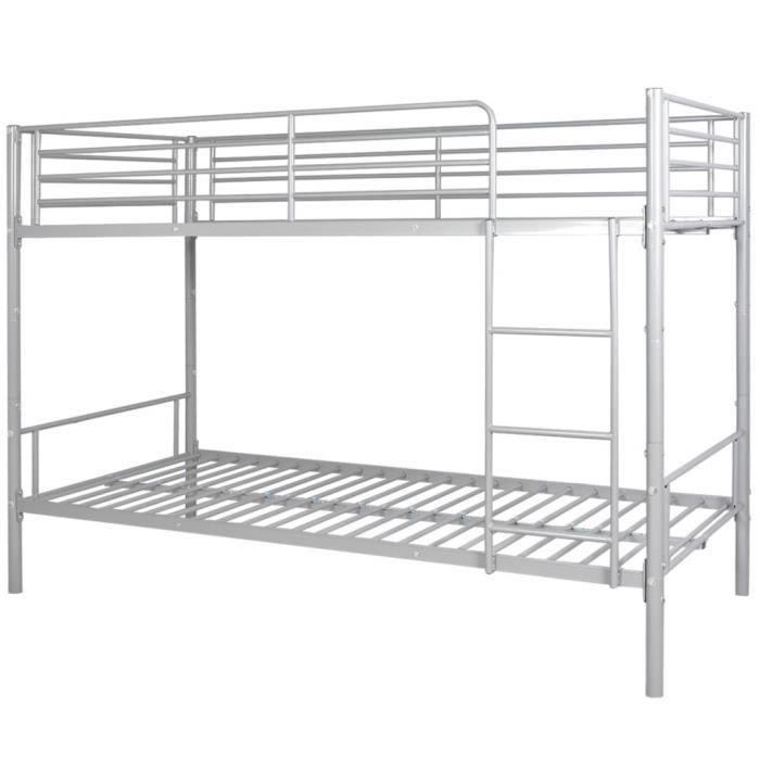 LITS SUPERPOSÉS Lits et cadres de lit  Cadre de lit superpose pour