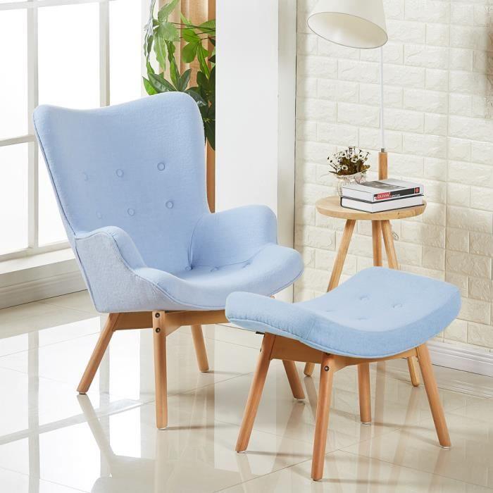 fauteuil fauteuil scandinave bleu stockholm - Fauteuil De Table Scandinave