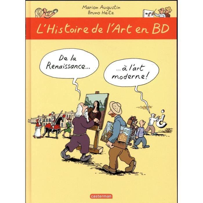 Livre L Histoire De L Art En Bd T 2 De La Renaissance A L Art Moderne