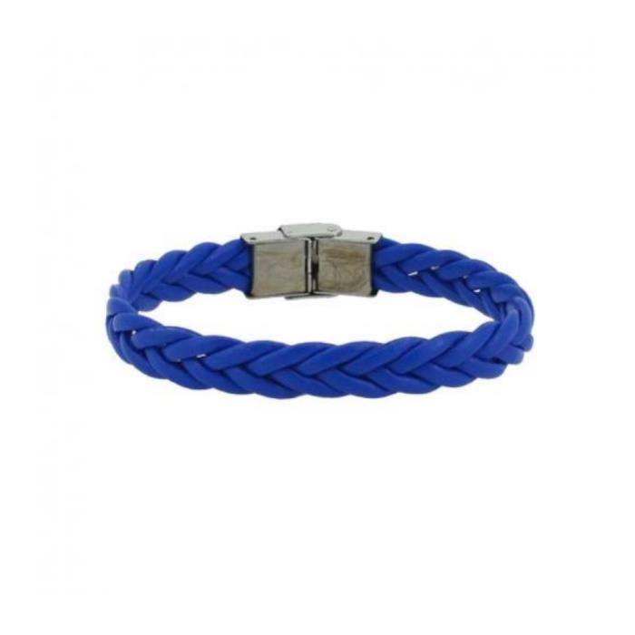 Bracelet Homme 10mm Cordon Choix Fermoir Tresse Acier Couleur Au WD92IEYH