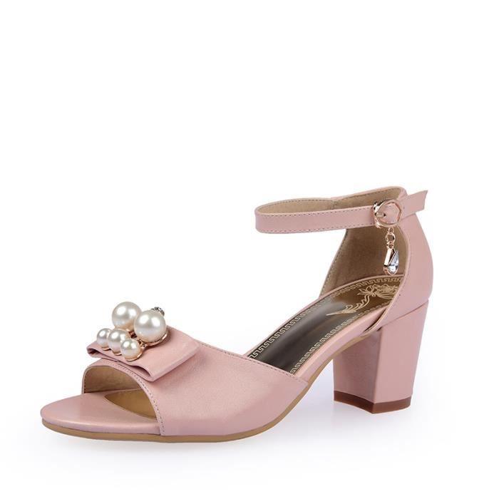 Sandales femmes Mode à bout outalons hauts SIMP... NFFGX4gz