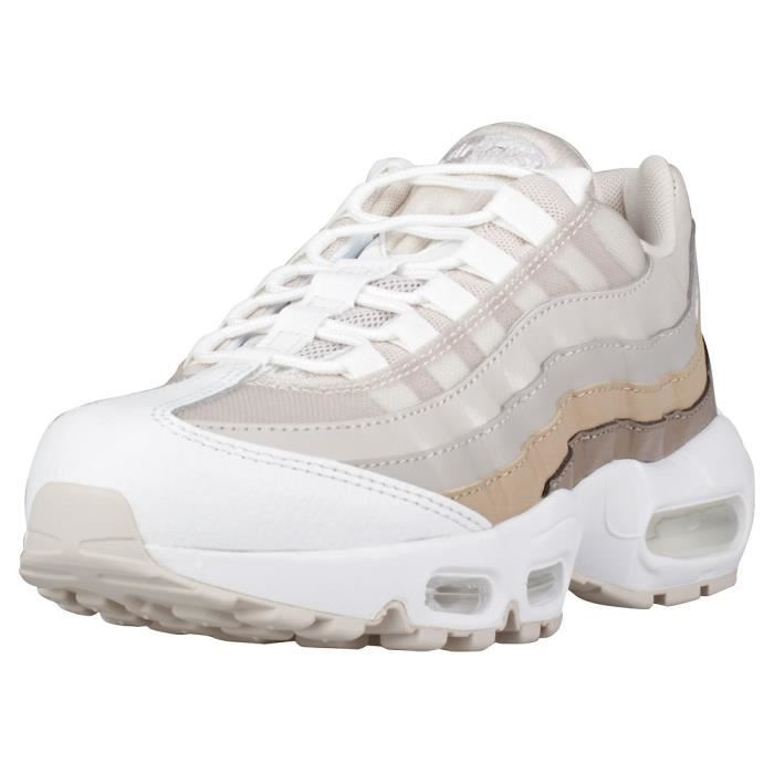 grossiste ec676 74c5f Nike Air Max 95 Femme Baskets Le sable Marron Le sable ...
