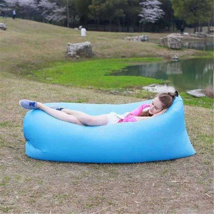 le nylon coussin gonflable air transat salon paresseux sofa lit portatif air plage accessoires. Black Bedroom Furniture Sets. Home Design Ideas