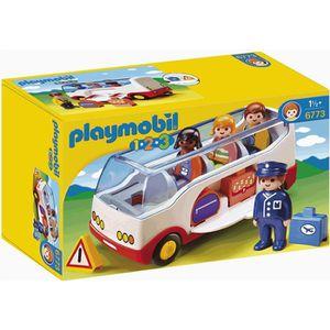 PLAYMOBIL 1.2.3. 6773 Autocar De Voyage