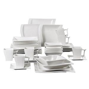 SERVICE COMPLET Malacasa Série FLORA 36pcs Service de Table Porcel