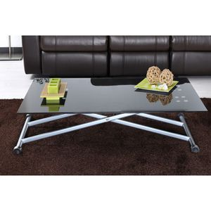 TABLE BASSE Table relevable BASTIA