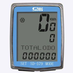 COMPTEUR POUR CYCLE Compteur de velo sans fil, Compteur kilometrique p