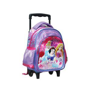 CARTABLE Sac à roulettes trolley maternelle Princesse Disne