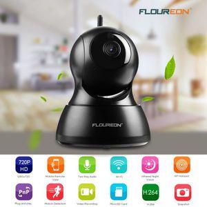 CAMÉRA IP FLOUREON 720P 1.0MP HD Wifi CCTV IP Caméra Intérie