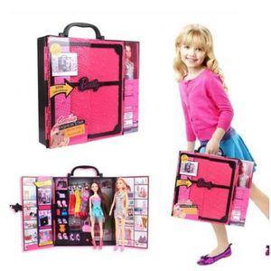 BRICOLAGE - ÉTABLI Poupée Barbie princesse fashionista Jouet maison d