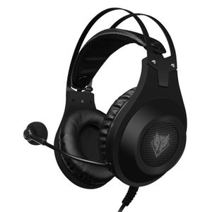 CASQUE AVEC MICROPHONE Casque Gaming PS4, N2 Casque Gaming Stéréo Filaire