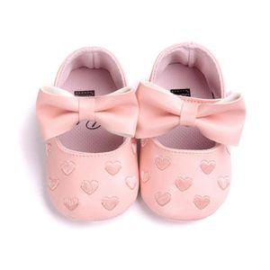 Chaussures de Bébé Fille en Etoiles décoratives en Violet T: 6-12 Mois !!! - BSS-116-429 Nn6vv4