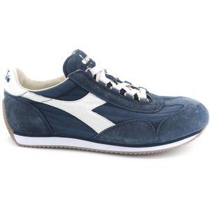 Diadora Equipe Stone Wash 12 sneaker homme blanc-grigio-blu art.C6682 T. 47 IiTxAKv