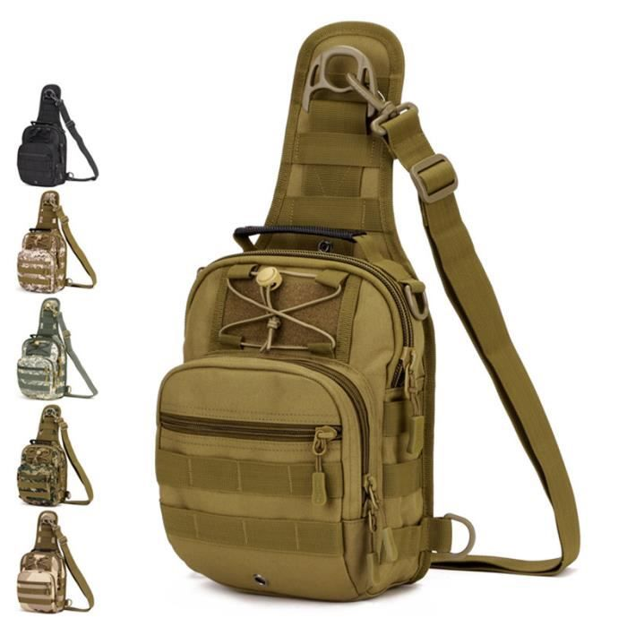 sac à main Hommes épaule Packs taille militaire Hommes Sacs multi-fonction imperméable ceinture pack -2428