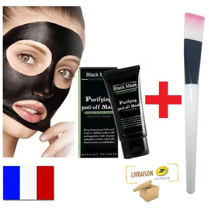 44fd60b5a599 Masque au charbon anti point noir - Achat   Vente pas cher