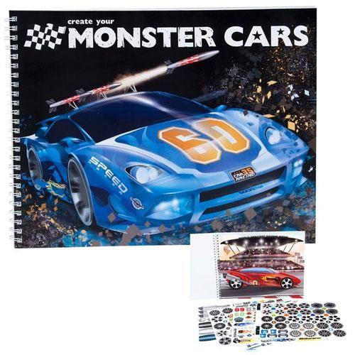 Album Coloriage Create Your Monster Cars Achat Vente Livre De